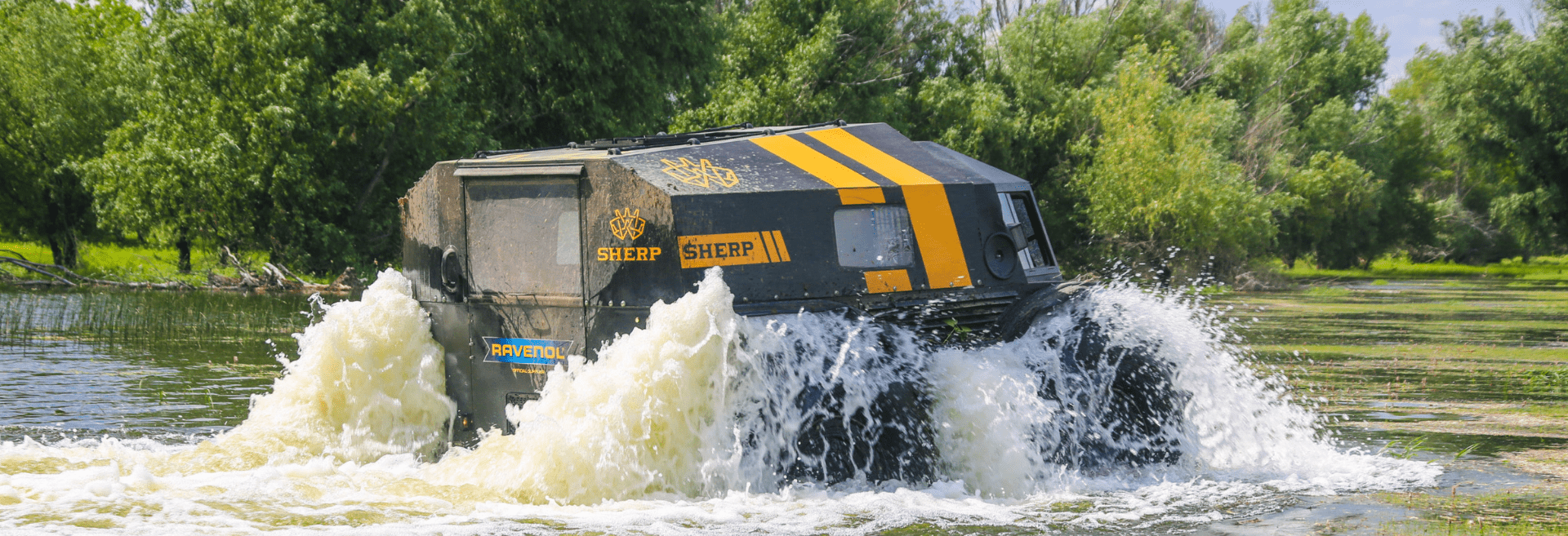 Sherp on the water